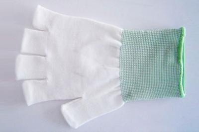 防塵長纖半指手套