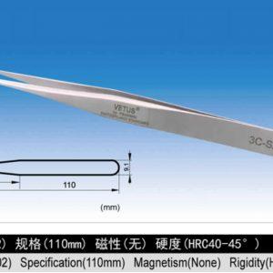 VETUS:SA系列不鏽鋼超精細高精密鑷子(3C-SA)